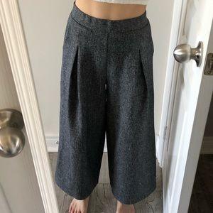 Pants - NWOT Wide Peppered Pants